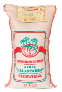 Bomba Paella Rice from Calasparra